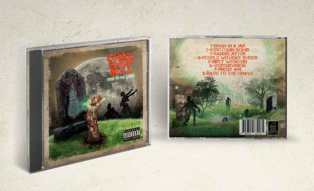 China Shop Bull, graphic design for album artwork